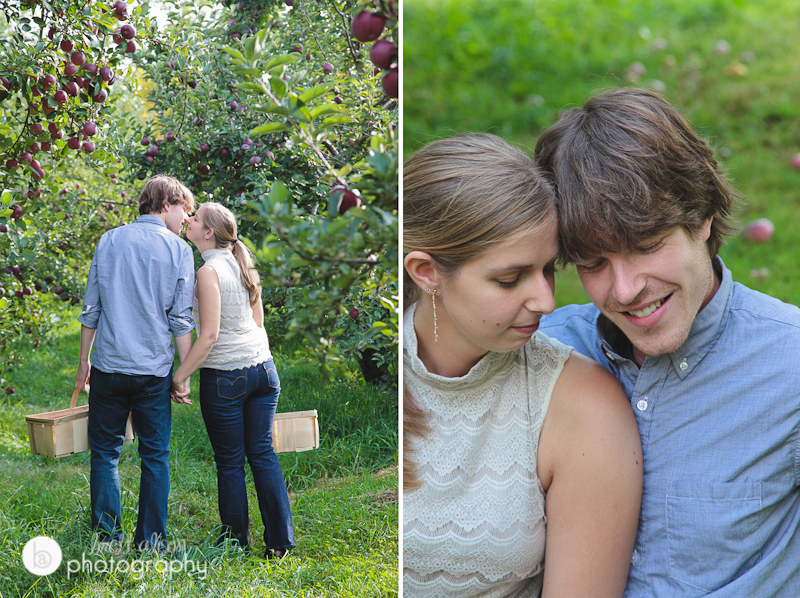 rustic country engagement photos ri