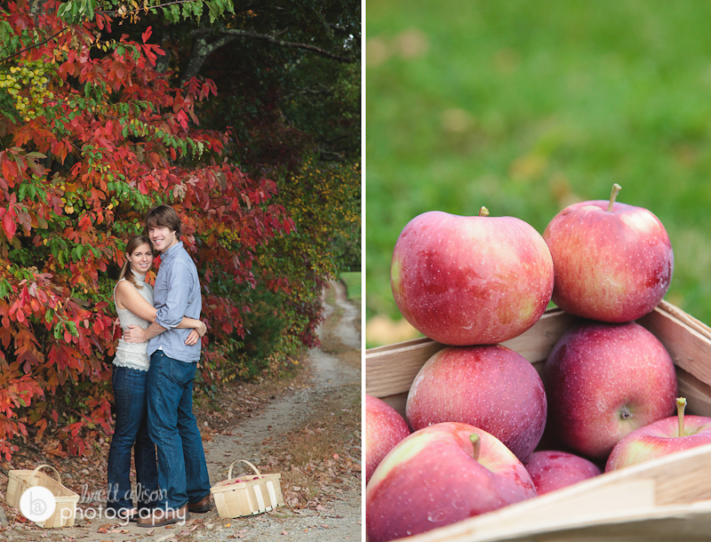 orchard hill rhode island engagement session