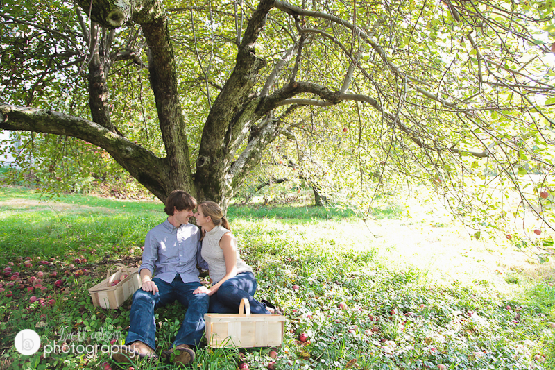 northern rhode island engagement session