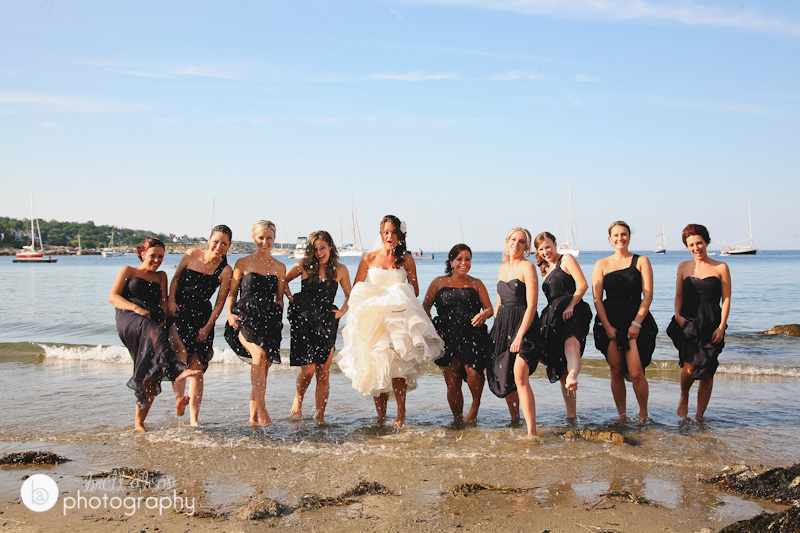 seaside rockport wedding pictures