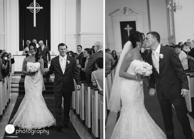 holly and mike's rockport wedding ceremony