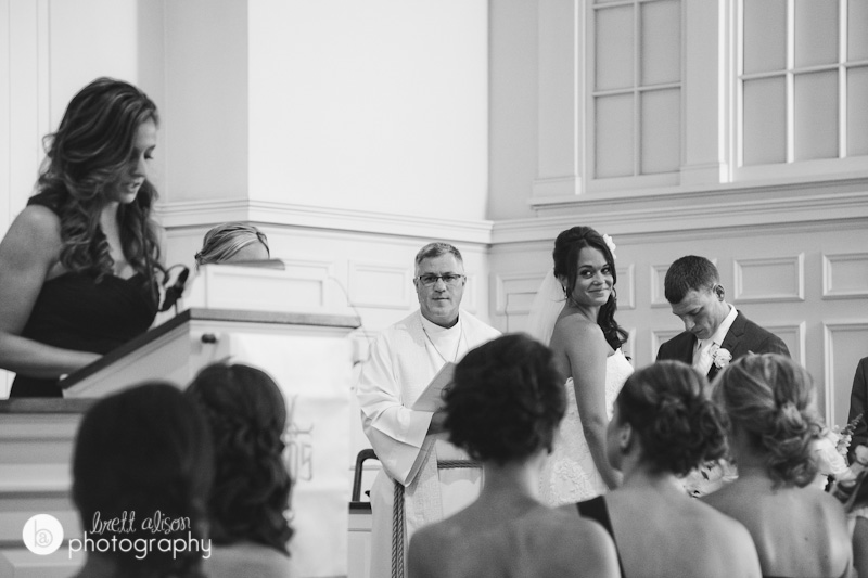 wedding ceremony photos rockport congregational church