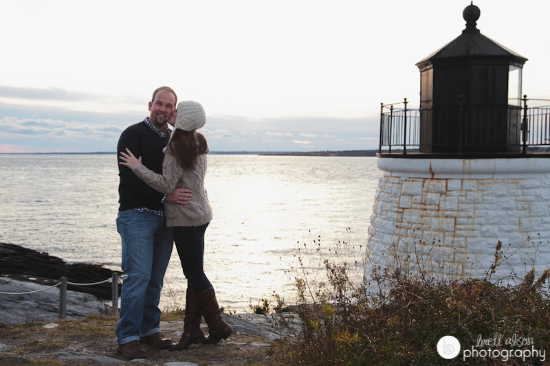 lighthouse wedding photos newport ri