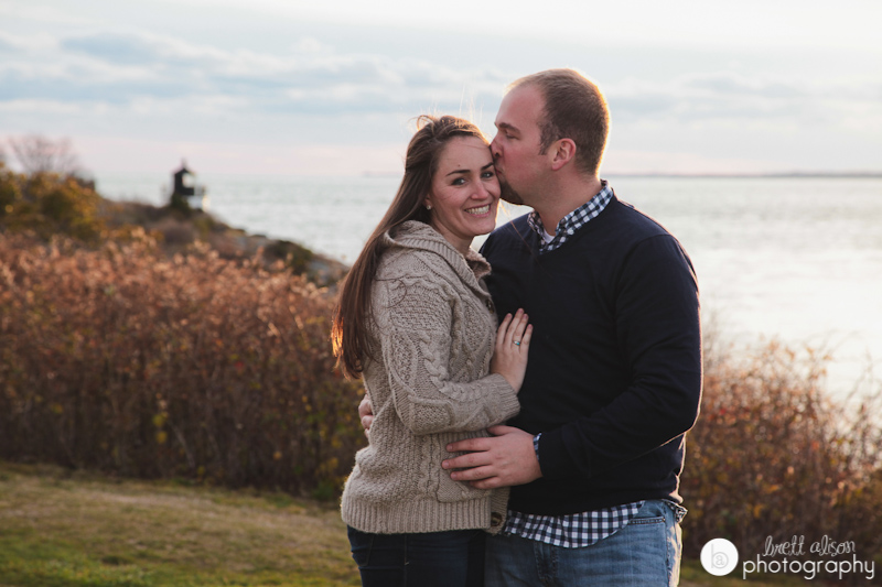 engagement photos castle hill inn newport