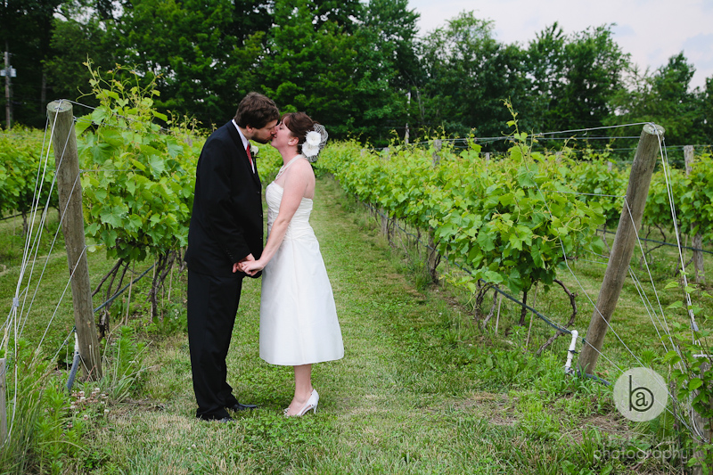 wedding photos in winery nashoba valley