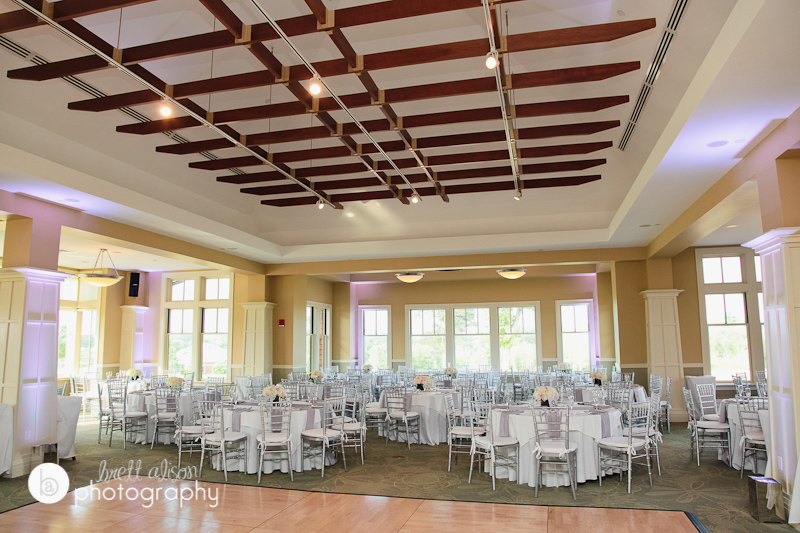 reception room at black rock cc