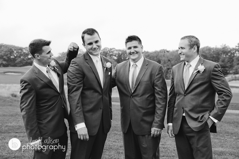 groomsmen wedding party hingham
