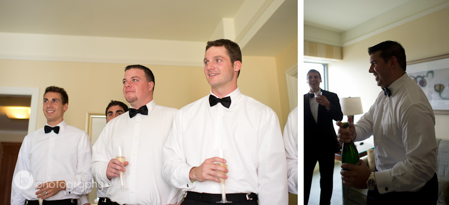 groomsmen getting ready photos