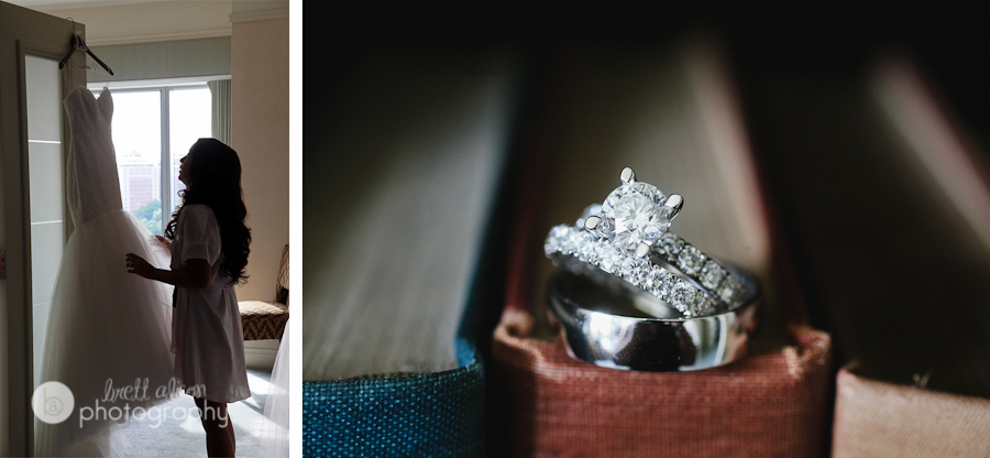 wedding rings details