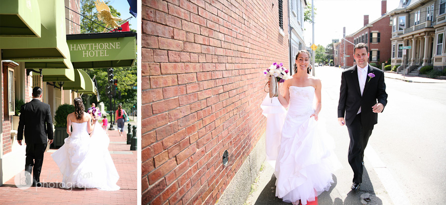 downtown salem ma wedding photos