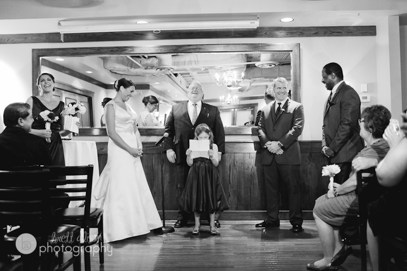 wedding ceremony at maggianos boston