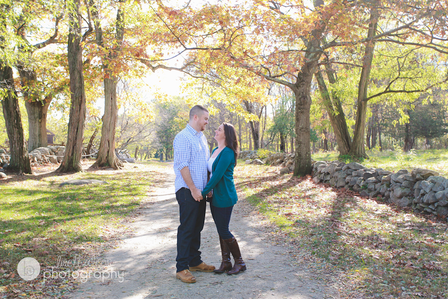 fall foliage engagement new england