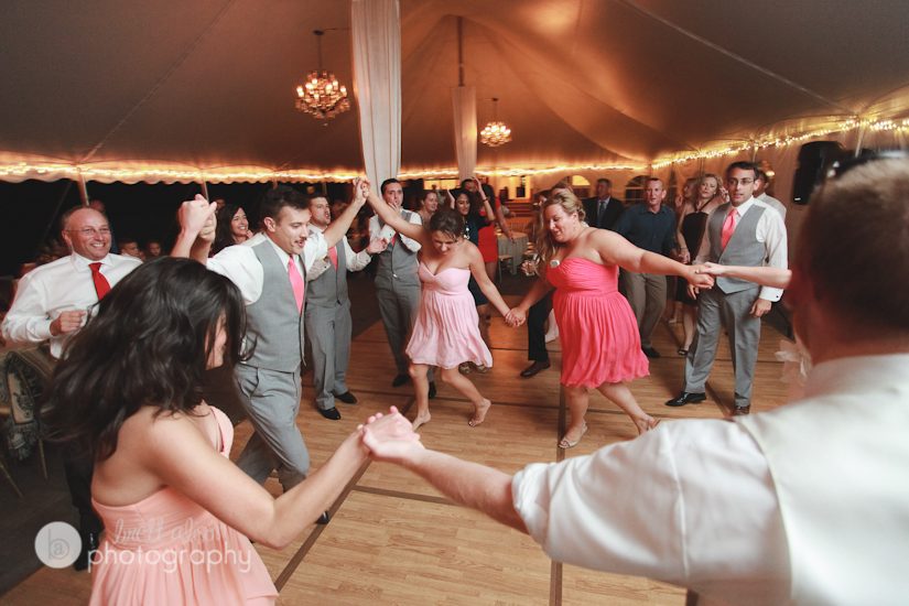 reception photos at the stevens estate north andover