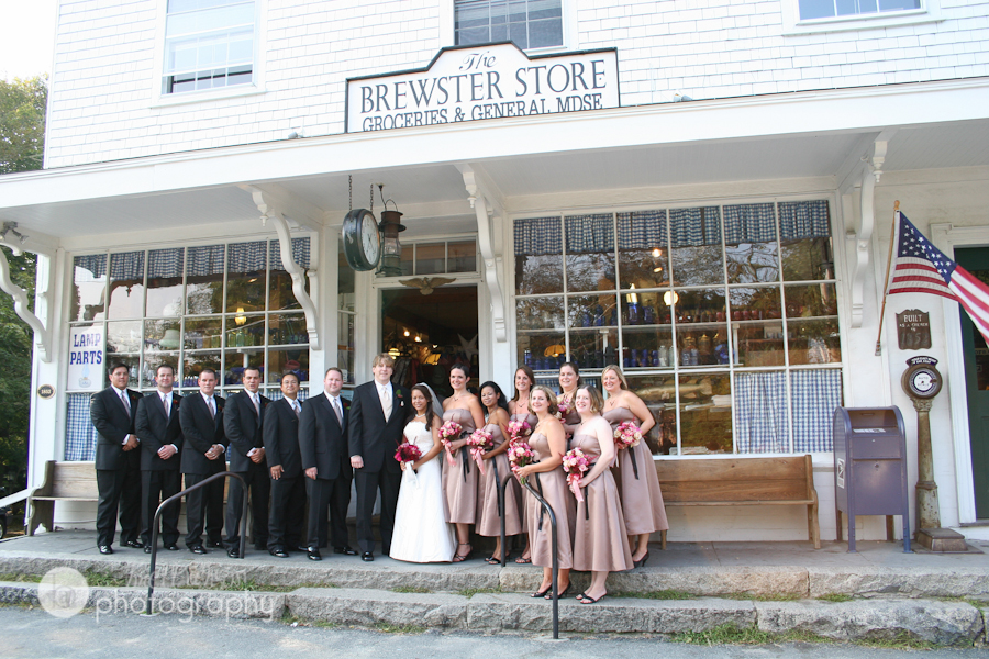 brewster general store wedding cape cod