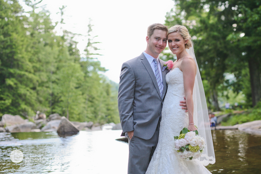natural outdoors wedding photos mountains nh
