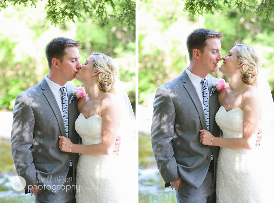 white mountains wedding