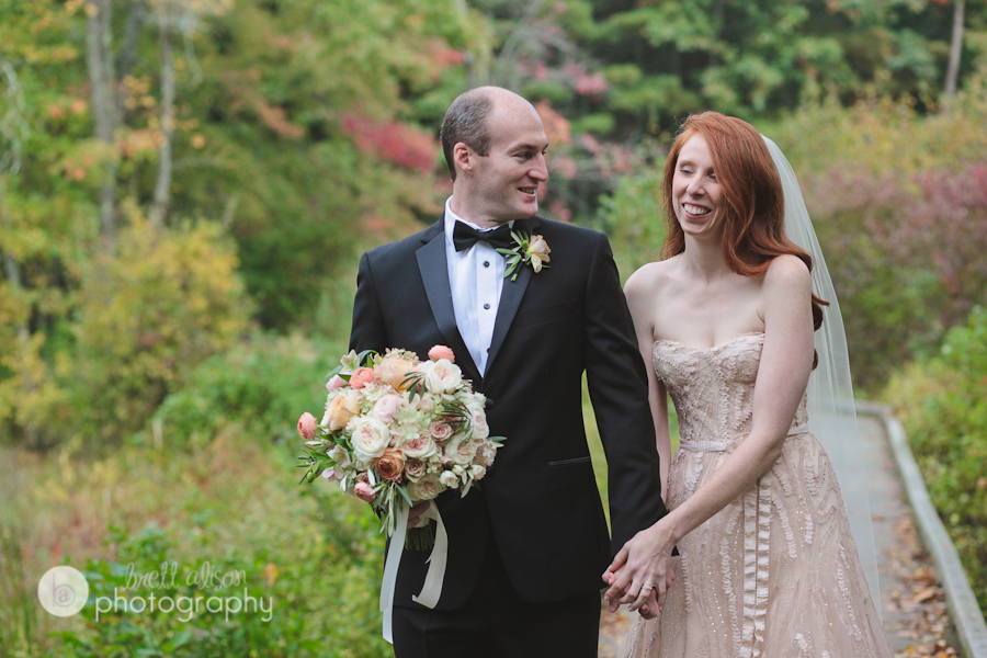 october wedding at willowdale