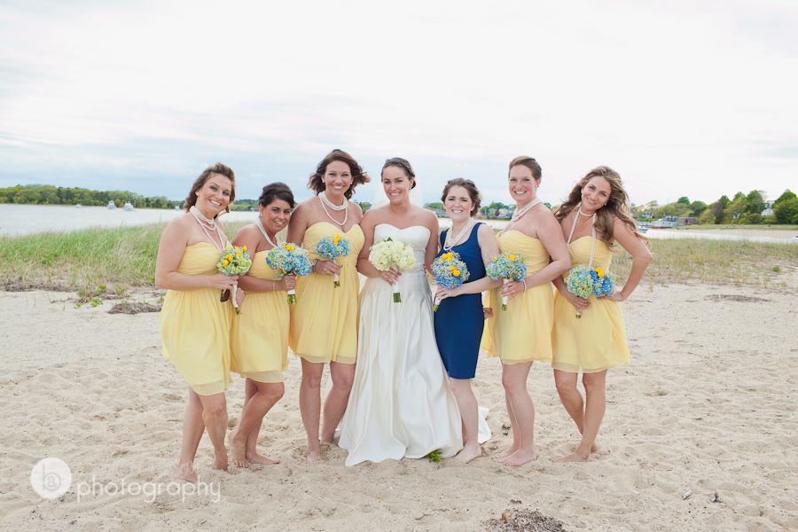 beach wedding photos near the cape