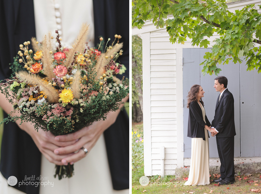 rural maine wedding
