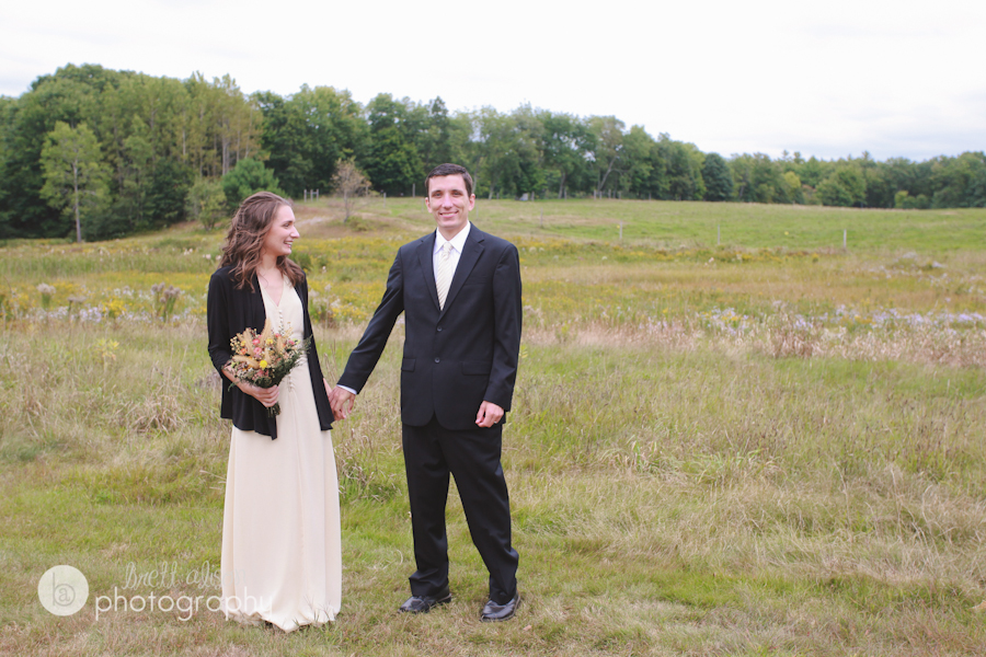 fall maine wedding