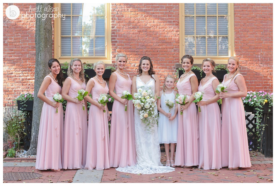 bridesmaids photos salem ma