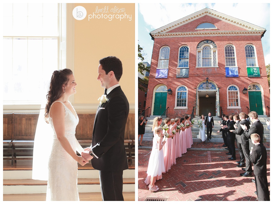 old town hall wedding salem
