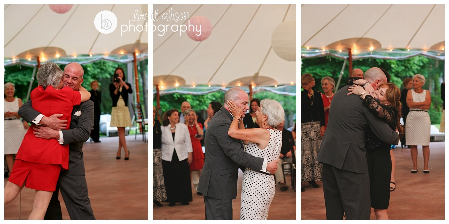 tent reception at willowdale estate photos