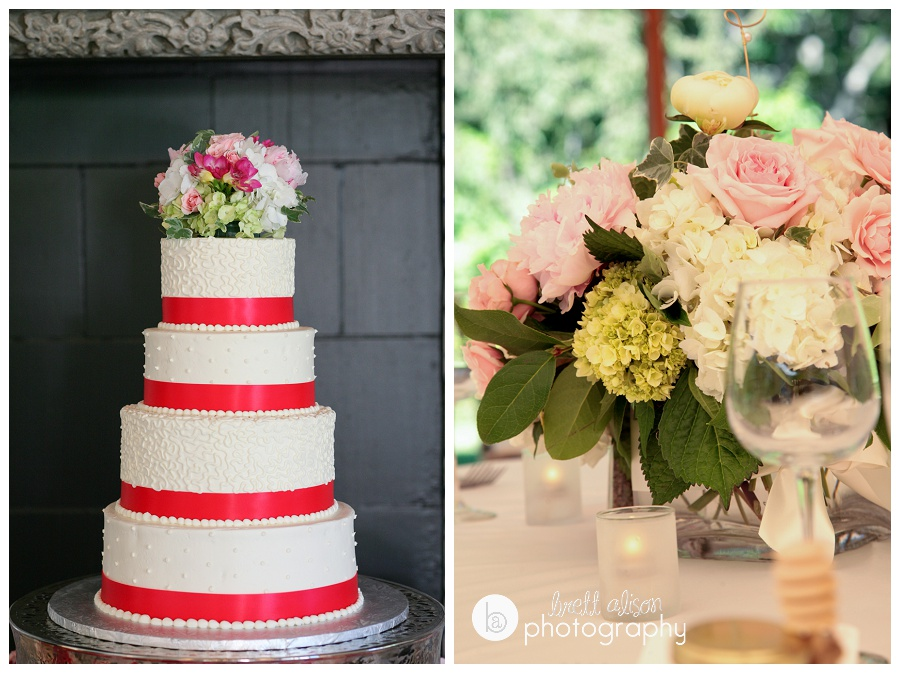 willowdale estate details cake flowers