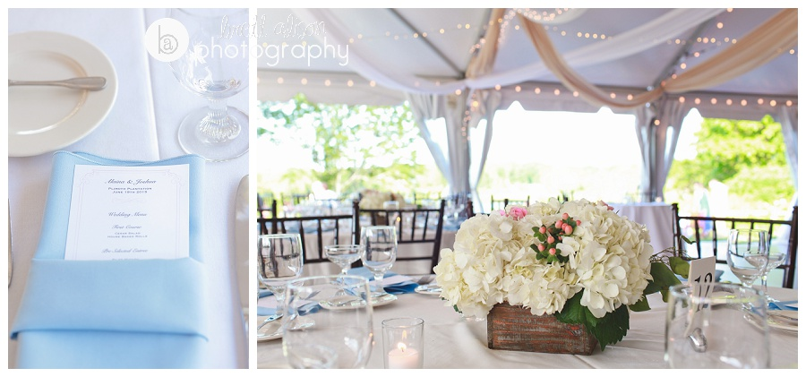 summer tent wedding photos plimoth plantation
