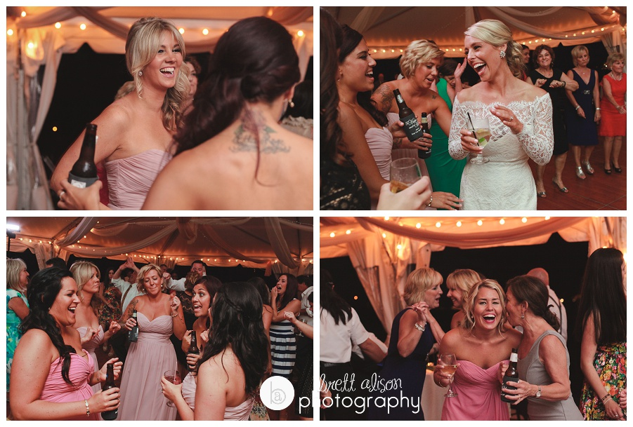 dancing tent wedding photos massachusetts