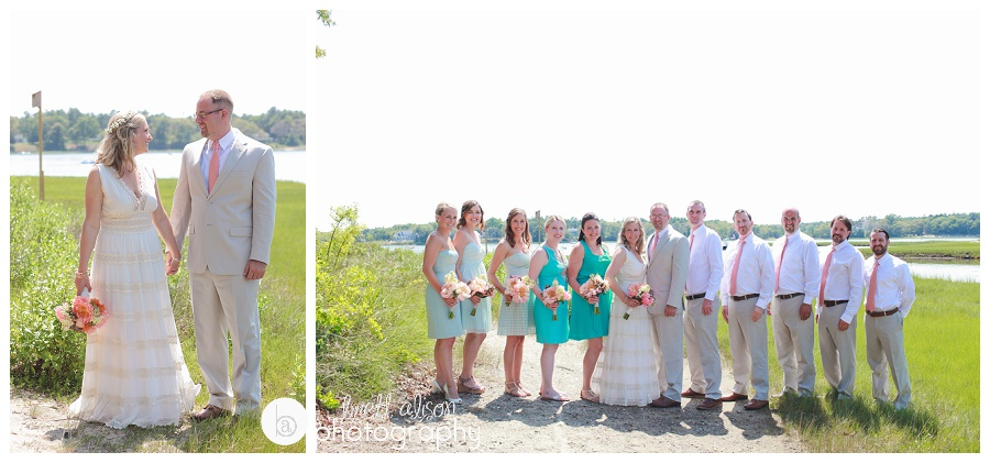 summer wedding cape cod photos