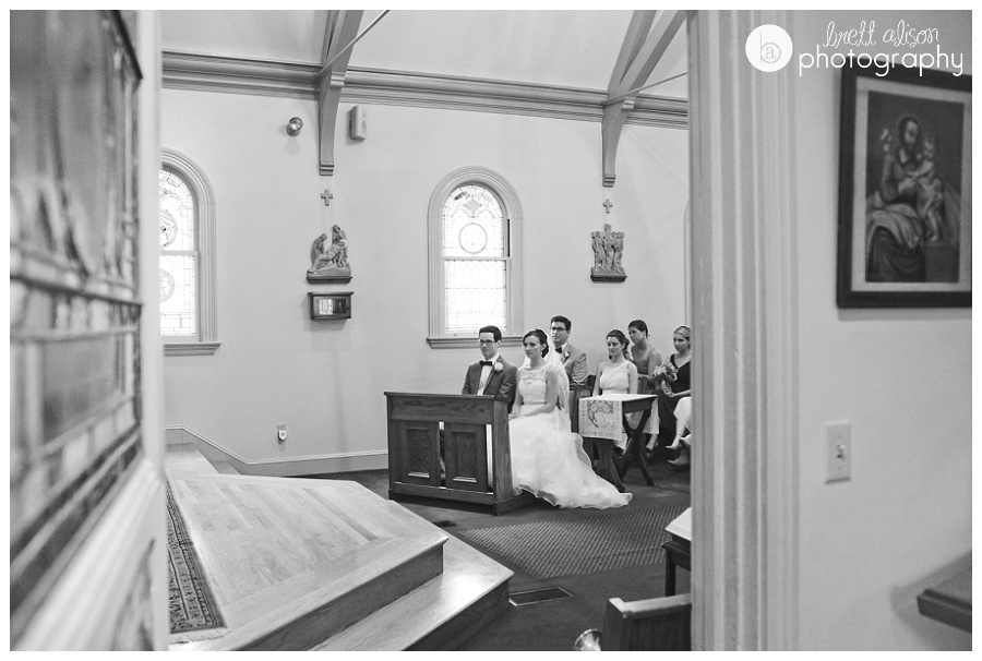 st julia parish wedding photos