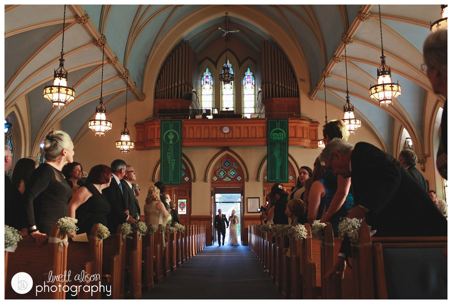 st augustine parish wedding photos