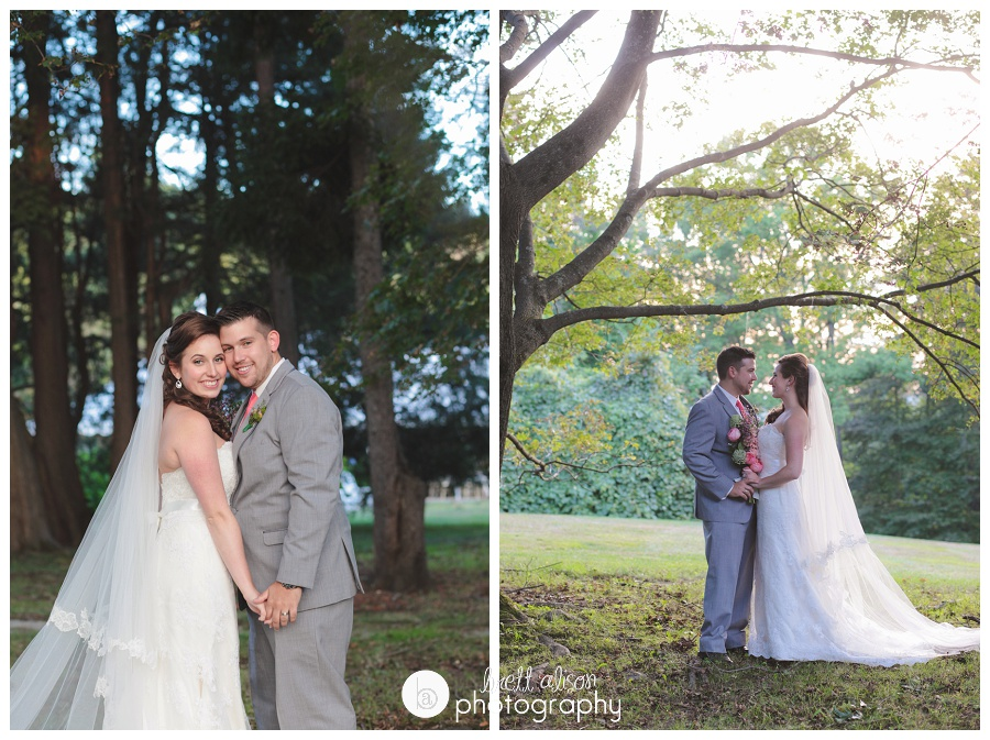 romantic wedding photos stevens estate andover