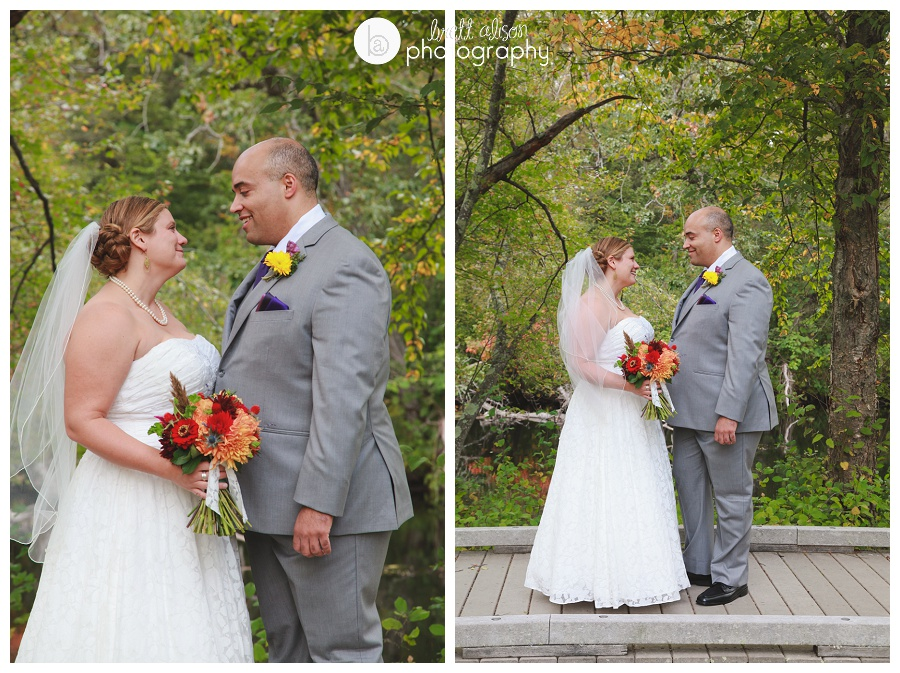 first look wedding photos willowdale