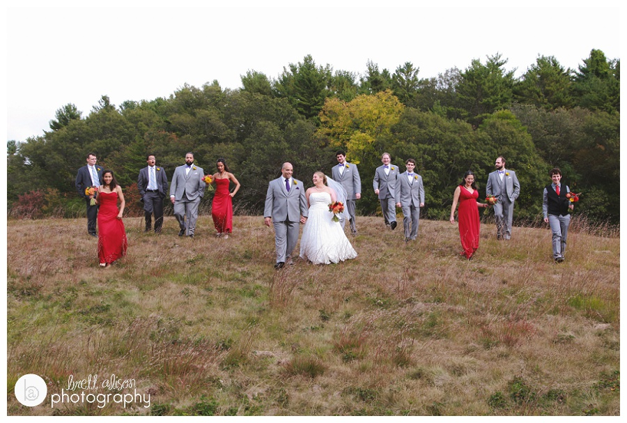 willowdale state forest wedding photos