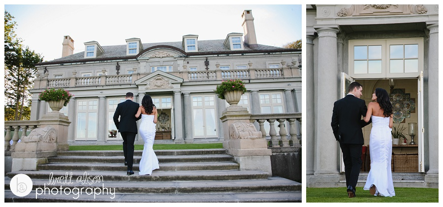 mansion wedding newport