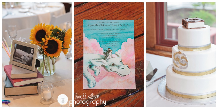 neverending story theme wedding