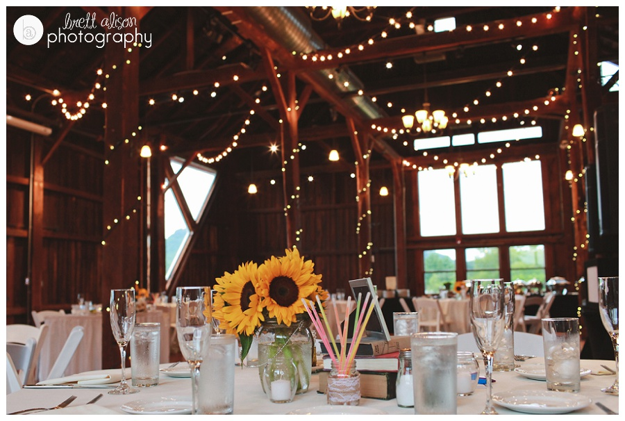 sunflower wedding photos