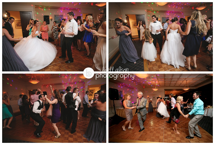 boston college club wedding