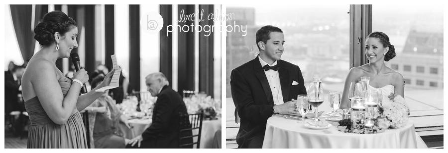 boston college club wedding photos