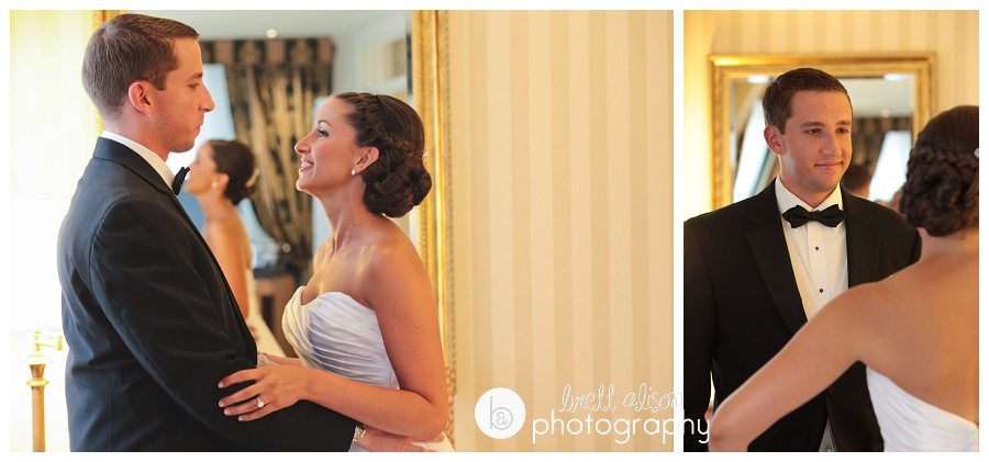 first look wedding photos langham hotel