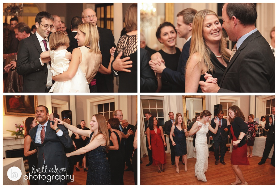 lyman estate wedding reception