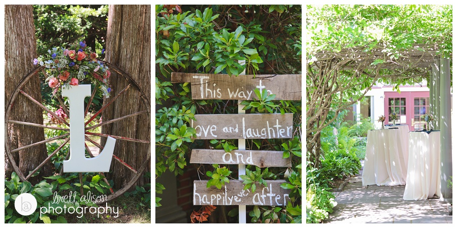 fun diy details wedding rustic woodsy