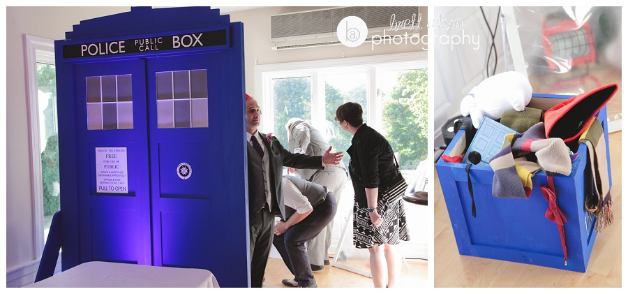 tardis doctor who wedding