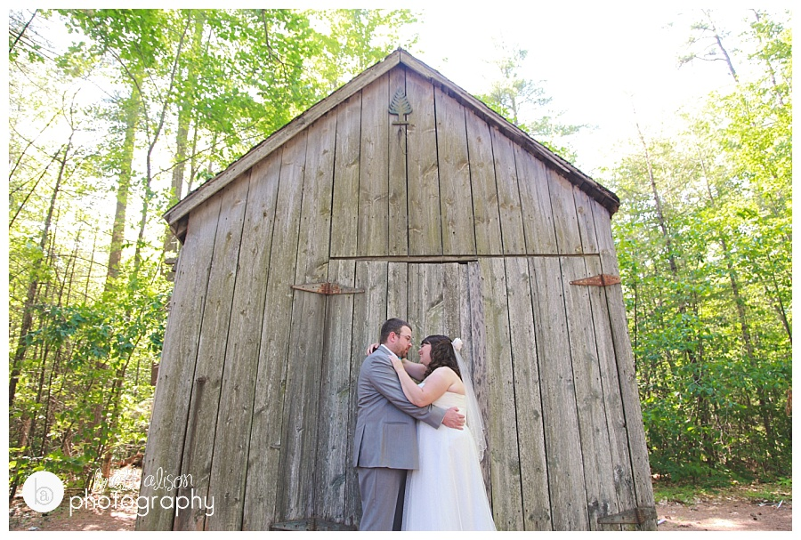 nh lake camp wedding