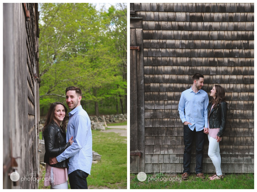 minuteman park engagement photos
