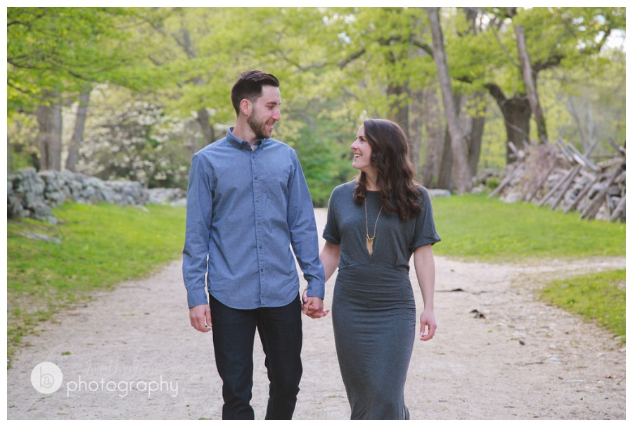 minuteman park engagement session