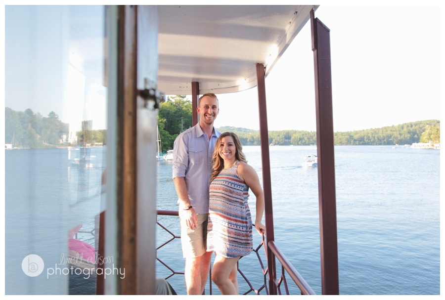 lake sunapee engagement photos
