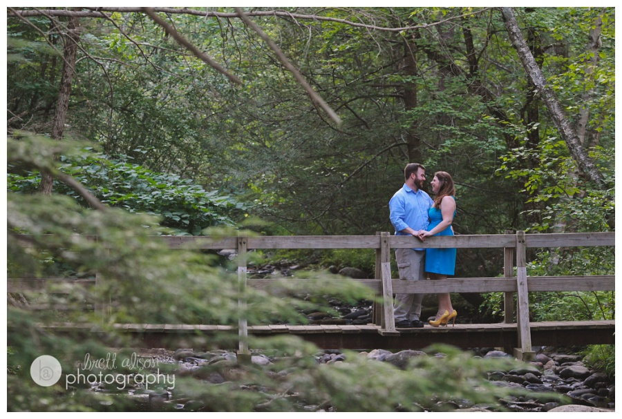 summer engagement session northern mass